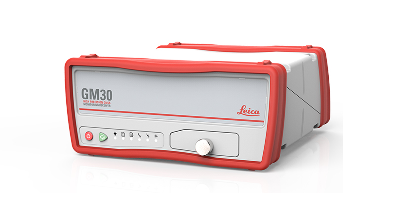 Leica GM30 GNSS monitoring receiver